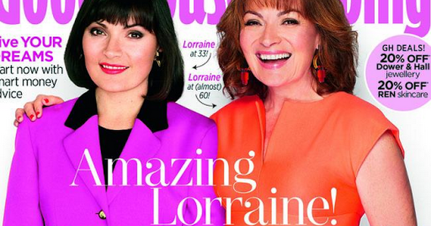 Lorraine Kelly says she looks fine without plastic surgery