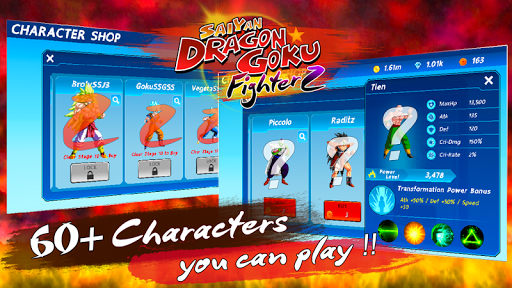 Saiyan Dragon Goku: Fighter Z 1.2.0 screenshots 13