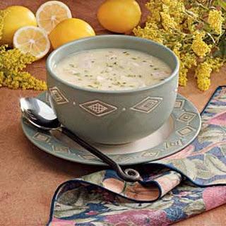 Lemony Turkey Rice Soup
