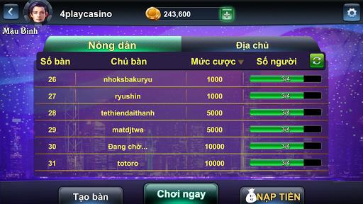 4Play - Mau Binh Online 76.2 screenshots 3
