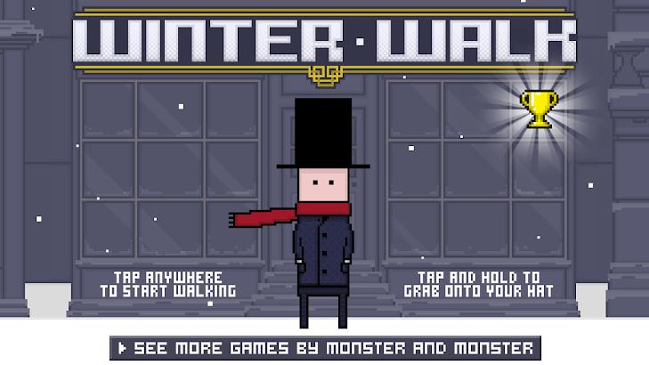 Winter Walk screenshot