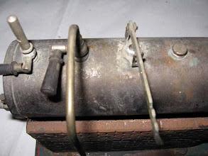 Photo: sifflet et vanne vapeur grippés et pas de poids sur la soupape
