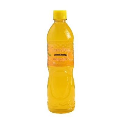 agua canaima saborizada naranja 600ml