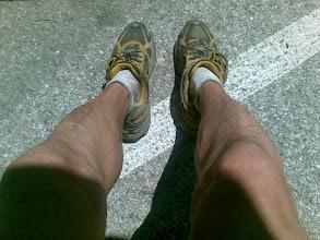 Photo: Tras el Maraton Alpino de Madrid 2008. Aun sigo con las mismas piernas!---enviado desde mi Nokia E71