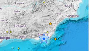 Lugar donde han ocurrido los terremotos.