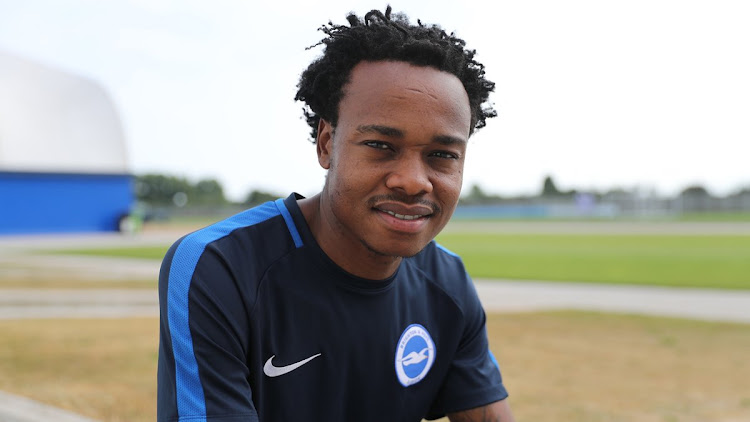 New Brighton & Hove Albion striker Percy Tau.