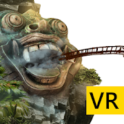 VR Temple Roller Coaster for Cardboard VR
