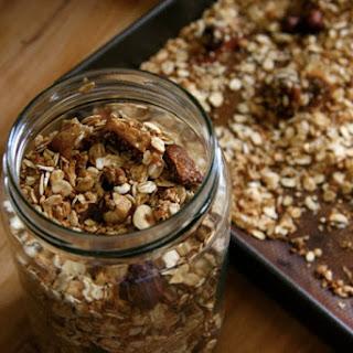 Hazelnut Granola with Toasted Quinoa.