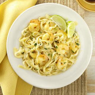 Thai Shrimp Pasta.