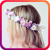 Flower Crown Beauty Camera
