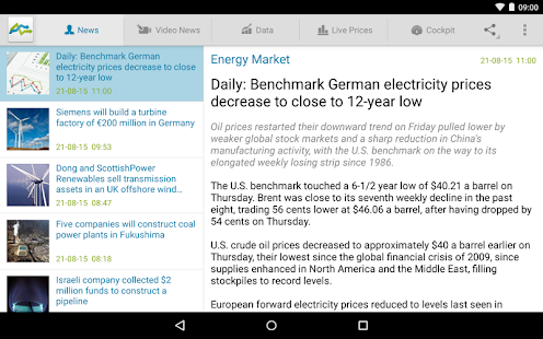 Energy Market Price- screenshot thumbnail