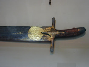 Photo: The prophet Mohammad's (s.a.a.w.w) sword.