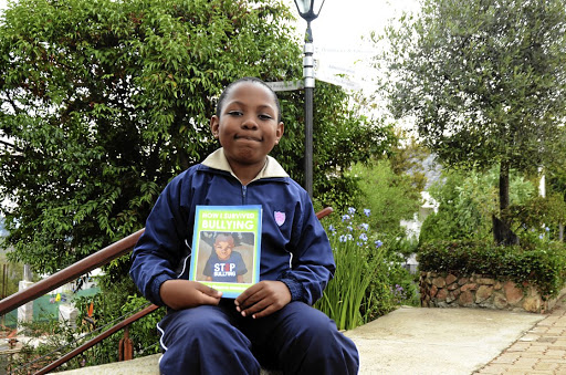 Lelo Kingston Mofokeng has written a book about bullying at school and how to survive the ordeal. / Mduduzi Ndzingi
