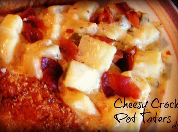 Cheesy Crock Pot Taters