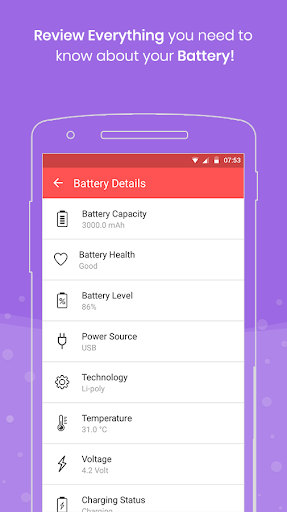 Full Battery Charge Alarm and Theft Security Alert 2.7 screenshots 8