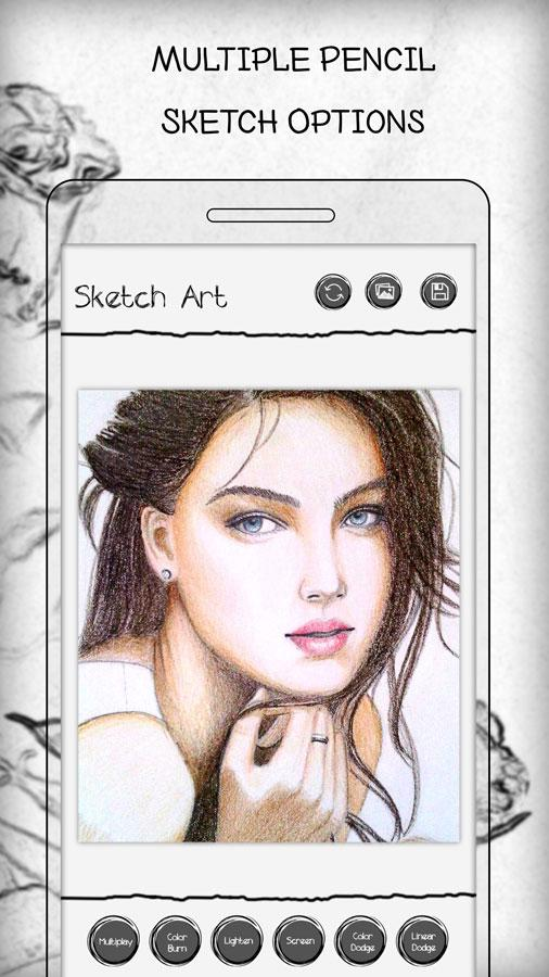 Pencil Sketch Art Photo Editor Android Apps On Google Play
