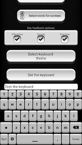 Black and White Keyboard screenshot 2