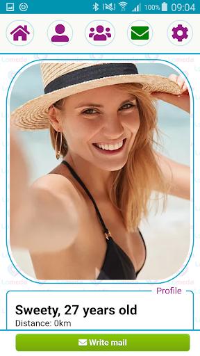 Free Dating App & Single Flirt Chat Meet by Lomeda 1.3 screenshots 1