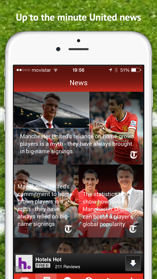 The Redcast App- screenshot