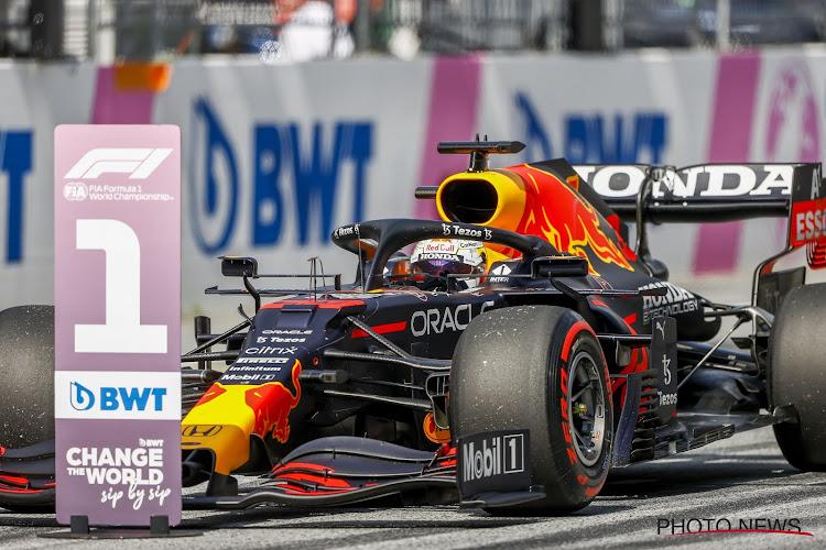 Verstappen pakt al derde overwinning op rij en laat Red Bull weer vieren op eigen bodem, geen Hamilton op podium