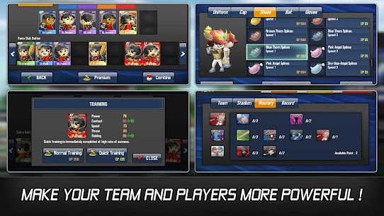 Baseball Star MOD 1.5.3 (Unlimited Autoplay Points / Free Training) APK 5