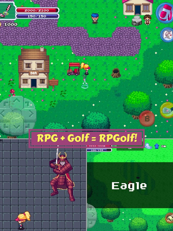 RPGolf- screenshot
