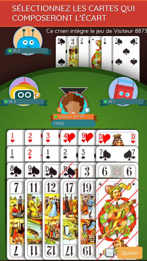jeu de tarot en ligne gratuit sans inscription