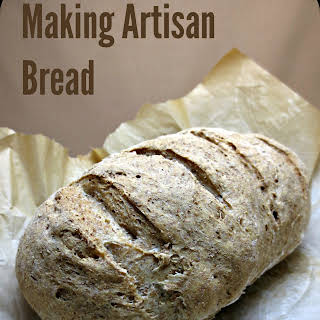 Simple Whole Wheat Artisan Bread.