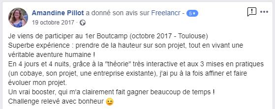 Témoignage Bootcamp