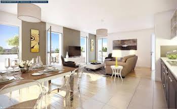 Appartement 2 pièces 55,4 m2