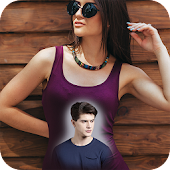 Photo on Girl's T-shirt : Photo Editor