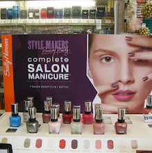 Photo: Along the way I spied this #SallyHansen CSM display with some re-promoted colors.