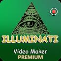 Illuminati Video Maker Premium icon