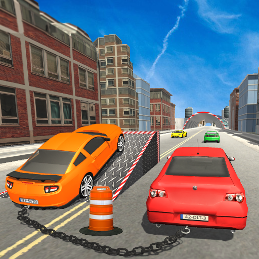 Chained Cars: City Driving Rivals