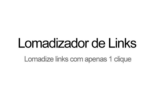 Lomadizador de links