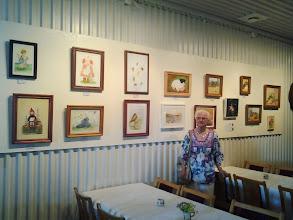 Photo: Gerti Böckmans konst utställning.