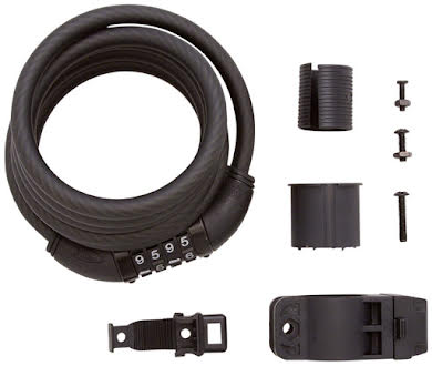 Planet Bike Quick Stop Cable Lock Cable Lock - Resettable Combo, With Bracket alternate image 0