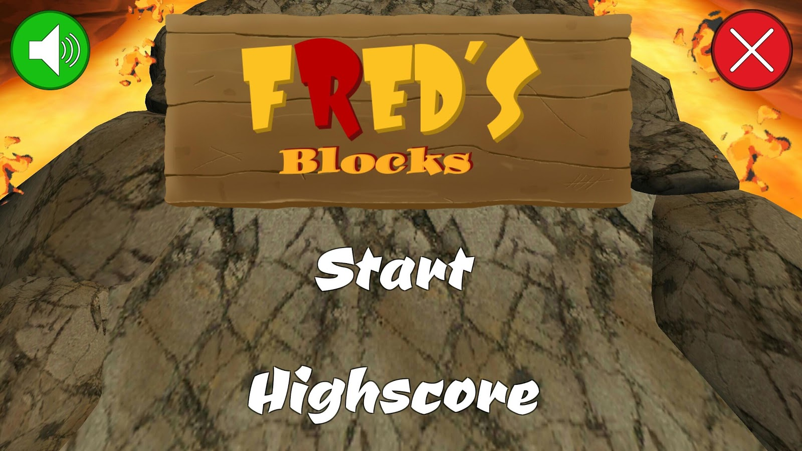 Crush Red Blocks - FRed Blocks- screenshot