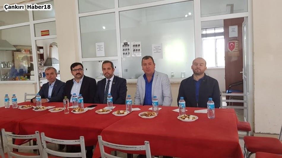 AK Parti Çankırı İl Başkanı,AK Çankırı Merkez İlçe,Abdulkadir Çelik,Bahri Kılıç,