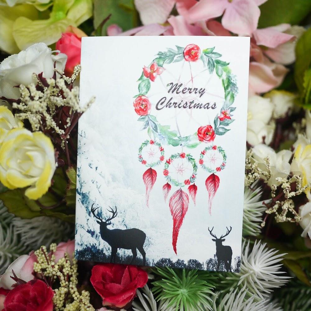 捕夢網聖誕卡 Dreamcatcher Christmas Card