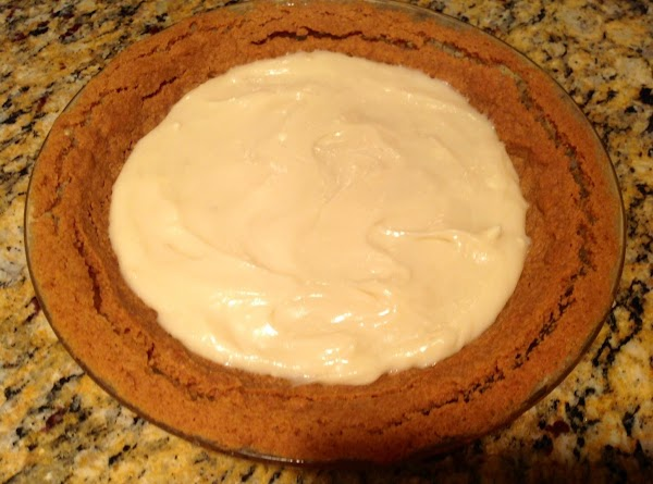 Blend together powdered sugar, cream cheese and vanilla.  Spread on cooled crust.