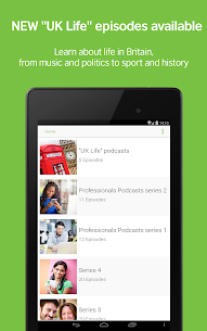 LearnEnglish Podcasts – Free English listeningApp Download For Android and iPhone 6