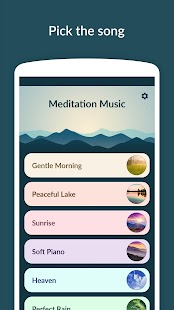 Meditation Music - Relax, Yoga Screenshot