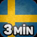 Schwedisch lernen in 3 Minuten icon