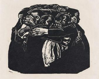 kollwitz xilografia Las Madres Krieg