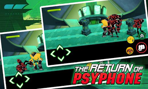Return of Psyphon Alien - Ben Alien Fighting - náhled