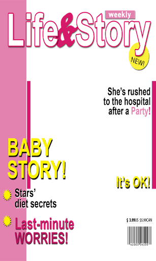 Magazine Cover Photo Mekar