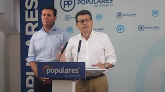Diputados del PP de Almería Javier A. García y Juan José Matarí  / PP Almería