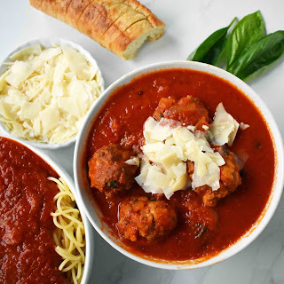 Mama's Best Ever Spaghetti and Meatballs