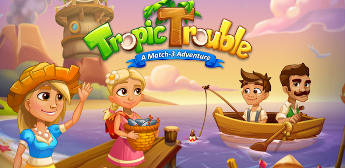 Tropic Trouble Match 3 Builder